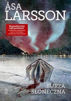 Chomikuj, ebook online Burza słoneczna. Asa Larsson