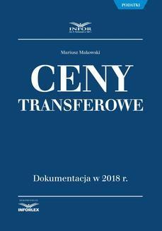 Chomikuj, ebook online Ceny transferowe. Dokumentacja w 2018 r.. Mariusz Makowski