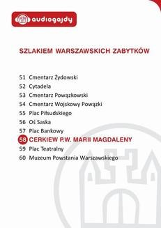 Chomikuj, ebook online Cerkiew pw. Marii Magdaleny. Szlakiem warszawskich zabytków. Ewa Chęć