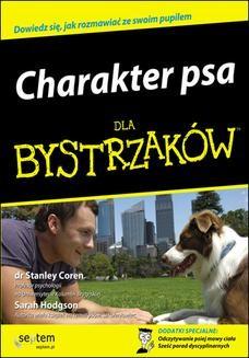 Ebook Charakter psa dla bystrzaków pdf