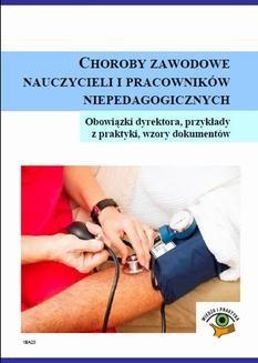 Ebook Choroby zawodowe nauczycieli i pracowników niepedagogicznych pdf