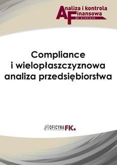 Chomikuj, ebook online Compliance i wielopłaszczyznowa analiza przedsiębiorstwa. Barbara Dąbrowska