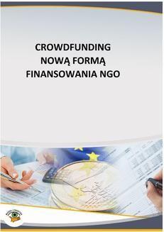 Chomikuj, ebook online Crowdfunding nową formą finansowania NGO. Mariusz Olech