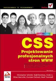 Chomikuj, ebook online CSS. Projektowanie profesjonalnych stron WWW. Christopher Schmitt
