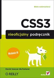 Chomikuj, ebook online CSS3. Nieoficjalny podręcznik. Wydanie III. David Sawyer McFarland