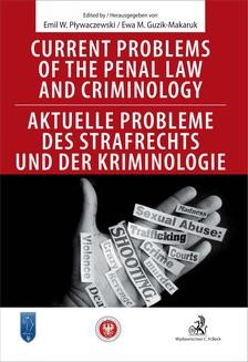Ebook Current problems of the penal Law and Criminology. Aktuelle probleme des Strafrechs und der Kriminologie pdf