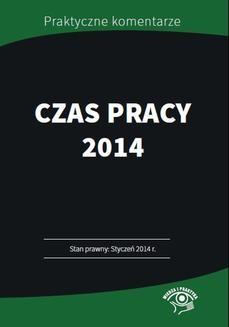 Ebook Czas pracy 2014 Przykłady, harmonogramy, wzory pdf