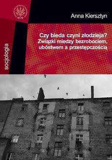 Ebook Czy bieda czyni złodzieja? pdf