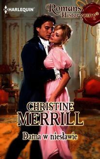 Chomikuj, ebook online Dama w niesławie. Christine Merrill