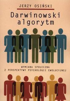 Chomikuj, pobierz ebook online Darwinowski algorytm. Jerzy Osiński