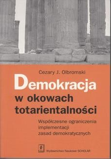 Chomikuj, ebook online Demokracja w okowach totarientalności. Cezary J. Olbromski
