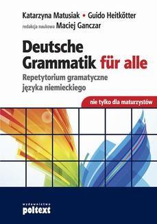 Chomikuj, ebook online Deutsche Grammatik für alle. Guido Heitkötter