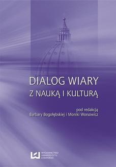 Chomikuj, ebook online Dialog wiary z nauką i kulturą. Barbara Bogołębska
