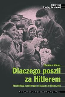 Ebook Dlaczego poszli za Hitlerem pdf