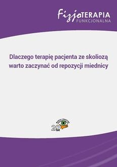 Chomikuj, ebook online Dlaczego terapię pacjenta ze skoliozą warto zaczynać od repozycji miednicy. Sandra Osipiuk