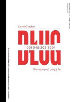 Ebook Dług. Pierwsze pięć tysięcy lat pdf