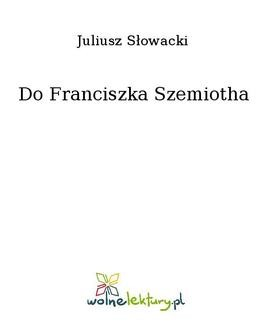 Ebook Do Franciszka Szemiotha pdf
