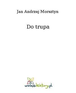 Ebook Do trupa pdf
