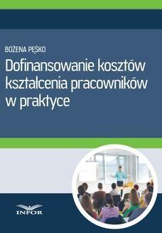Ebook Dofinansowanie kosztów kształcenia pracowników w praktyce pdf