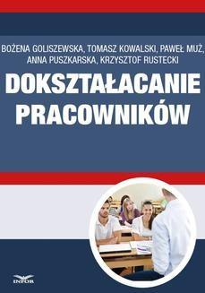 Chomikuj, ebook online Dokształcanie pracowników. Bożena Goliszewska