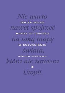 Chomikuj, ebook online Dusza człowieka w socjalizmie. Oscar Wilde