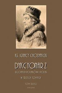 Ebook Dykcjonarz uczonych Polaków i Polek. W trzech tomach. Tom III pdf