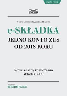 Chomikuj, ebook online E-składka. Jedno konto ZUS od 2018 roku. Joanna Goliniewska