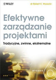 Ebook Efektywne zarządzanie projektami. Wydanie VI pdf