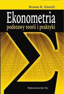 Chomikuj, ebook online Ekonometria. Brunon R. Górecki