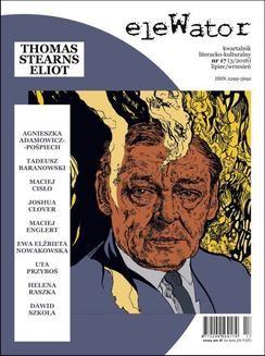 Ebook eleWator 17 (3/2016) – Thomas Stearns Eliot pdf