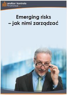 Ebook Emerging risks – jak nimi zarządzać pdf