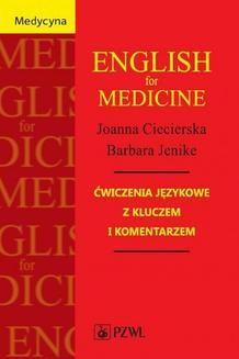 Chomikuj, pobierz ebook online English for Medicine. Joanna Ciecierska