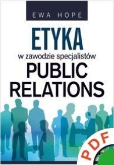 Chomikuj, ebook online Etyka w zawodzie specjalistów public relations. Ewa Hope