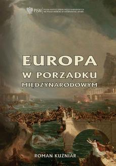 Ebook Europa w porządku międzynarodowym pdf