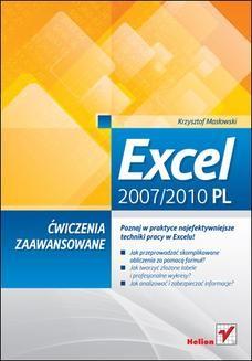 Chomikuj, ebook online Excel 2007/2010 PL. Ćwiczenia zaawansowane. Krzysztof Masłowski