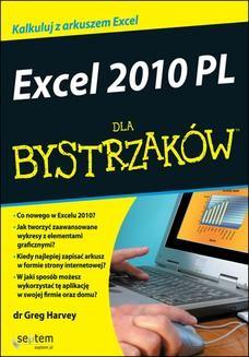 Ebook Excel 2010 PL dla bystrzaków pdf