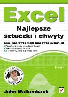 Chomikuj, ebook online Excel. Najlepsze sztuczki i chwyty. John Walkenbach