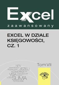 Chomikuj, ebook online Excel w dziale księgowości, cz. 1. Wojciech Próchnicki