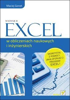 Chomikuj, ebook online Excel w obliczeniach naukowych i inżynierskich. Wydanie II. Maciej Gonet