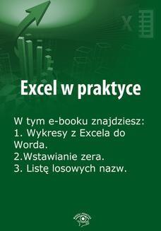 Chomikuj, pobierz ebook online Excel w praktyce, wydanie lipiec 2014 r. Rafał Janus