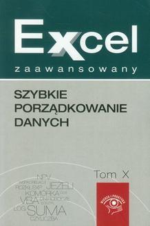 Ebook Excel zaawansowany Szybkie porządkowanie danych pdf