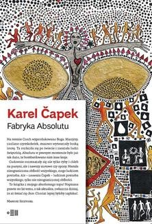 Chomikuj, ebook online Fabryka Absolutu. Karel Čapek