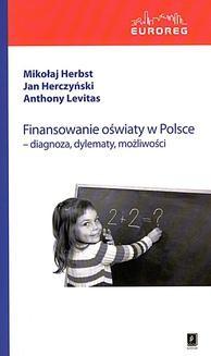 Ebook Finansowanie oświaty w Polsce pdf