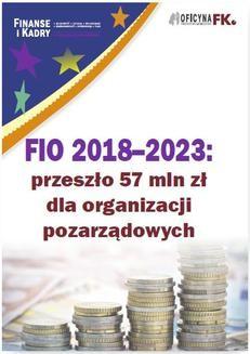 Ebook FIO 2018–2023: przeszło 57 mln zł dla organizacji pozarządowych pdf