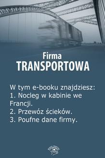 Ebook Firma transportowa, wydanie czerwiec 2014 r. pdf