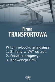 Ebook Firma transportowa, wydanie marzec 2014 r. pdf