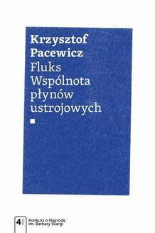 Chomikuj, ebook online Fluks. Wspólnota płynów ustrojowych. Krzysztof Pacewicz