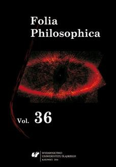 Ebook Folia Philosophica. Vol. 36 pdf