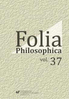 Ebook Folia Philosophica. Vol. 37 pdf