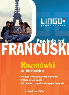 Chomikuj, ebook online Francuski: rozmówki, dialogi, słownictwo. Widawnictwo Lingo
